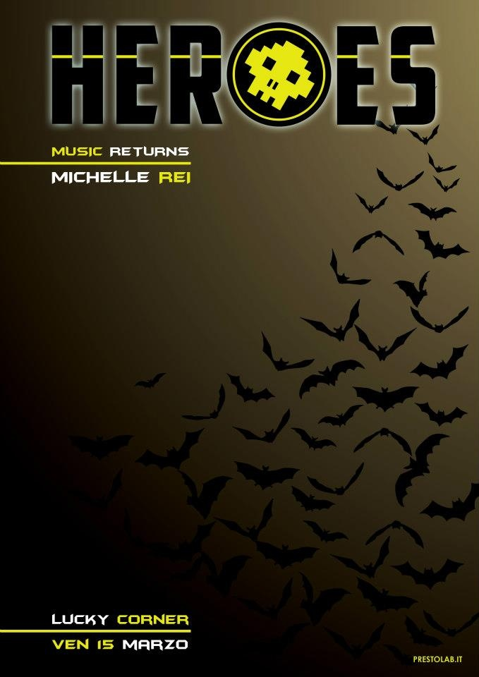 Locandina Heroes - Batman