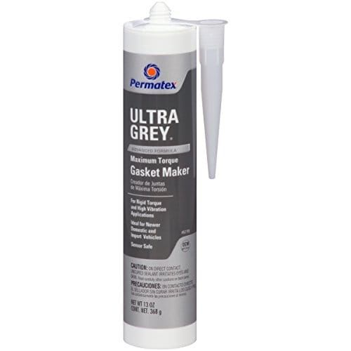 Permatex 82195 Ultra Grey Rigid High-Torque RTV Silicone Gas