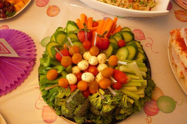 Concevoir sa propre assiette de buffet-Légumes JR