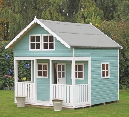 wooden wendy houses with veranda uk - Google Search