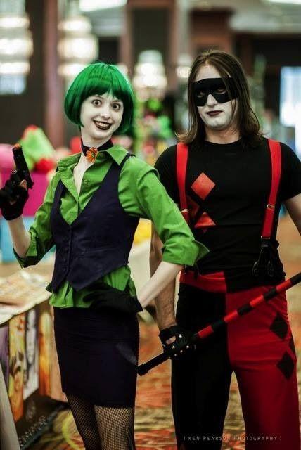 Cosplay In America Gender Bender Joker Harley