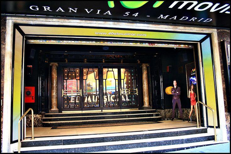 Teatro Rialto Movistar. Gran Vía. Madrid