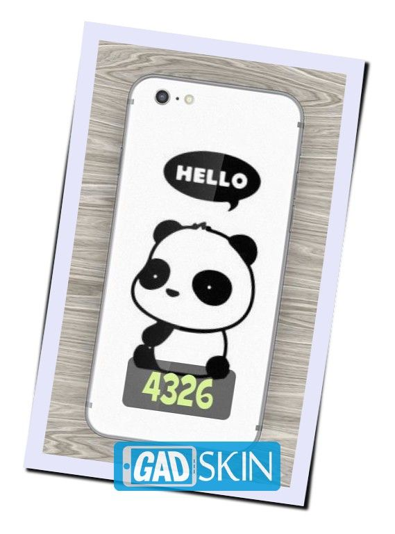 http://ift.tt/2cX4LFl - Gambar Hello Panda ini dapat digunakan untuk garskin semua tipe hape yang ada di daftar pola gadskin.