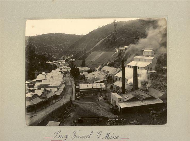 Culture Victoria - Long Tunnel Gold Mine ca.1900
