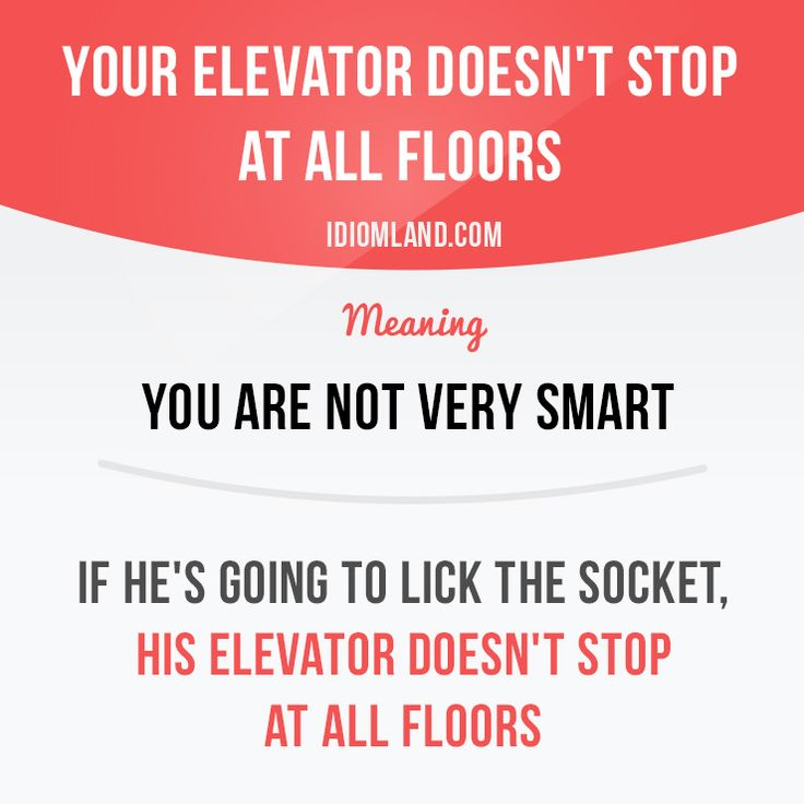 Does your elevator stop at all floors? -         Repinned by Chesapeake College Adult Ed. We offer free classes on the Eastern Shore of MD to help you earn your GED - H.S. Diploma or Learn English (ESL) .   For GED classes contact Danielle Thomas 410-829-6043 dthomas@chesapeke.edu  For ESL classes contact Karen Luceti - 410-443-1163  Kluceti@chesapeake.edu .  www.chesapeake.edu