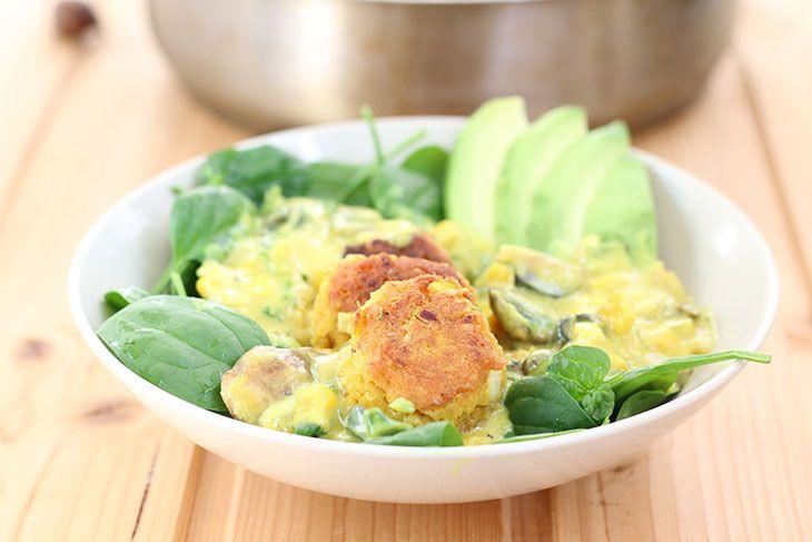 Dal Kofta---Lentil-Balls-in-Curry-Sauce-Chiftelute-de-linte-in-sos-curry-vegan