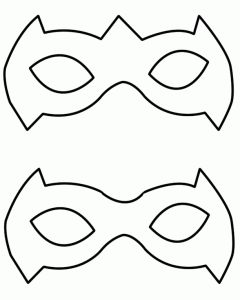 17 best ideas about batman mask template on pinterest for Joker mask template
