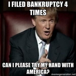 Image result for trump bankruptcies
