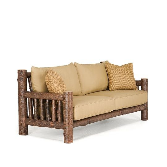 Rustic Sofa 1280  Traditional, Transitional, Rustic  Folk, Upholstery  Fabric, Wood, Sofas  Sectional by La Lune Collection