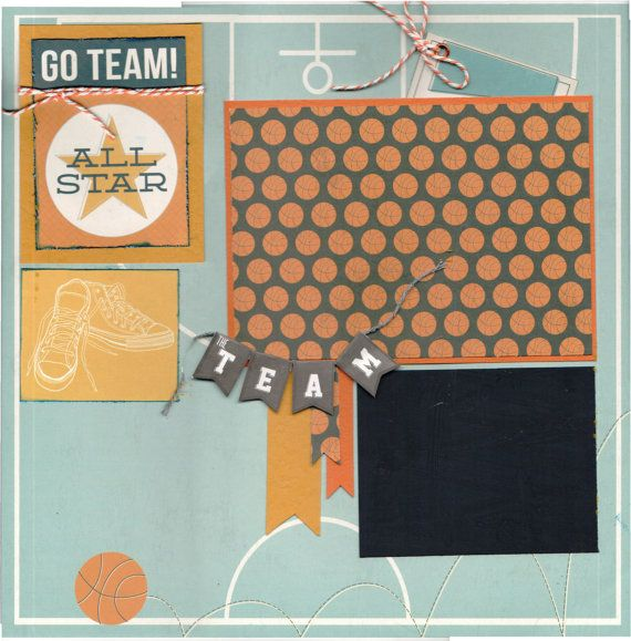 17 best images about sports scrapbook layouts on pinterest