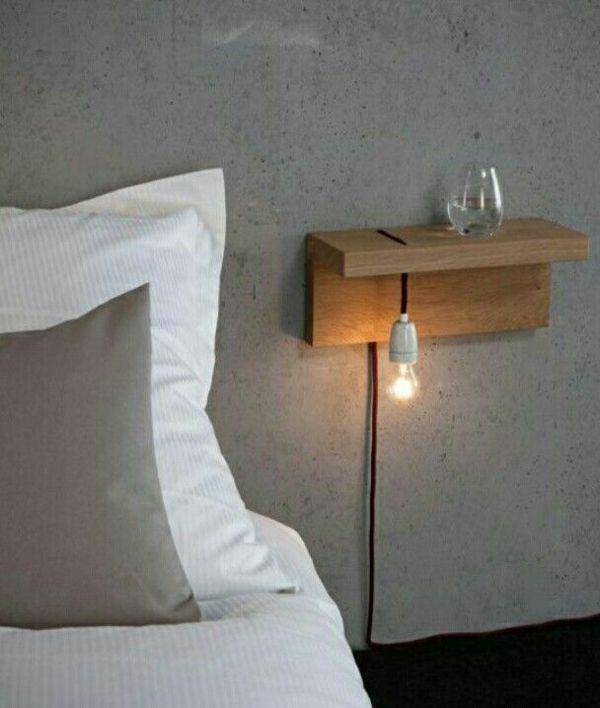 Die besten 25+ Nachttisch holz Ideen auf Pinterest Nachttisch - designer nachttische schlafzimmer
