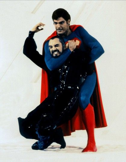 Terrence Stamp as General Zod in Superman 2.