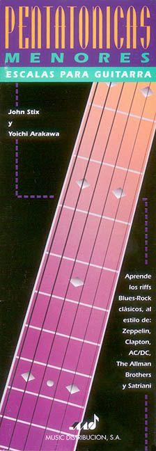 Pentatonicas Menores Escalas Para Guitarra