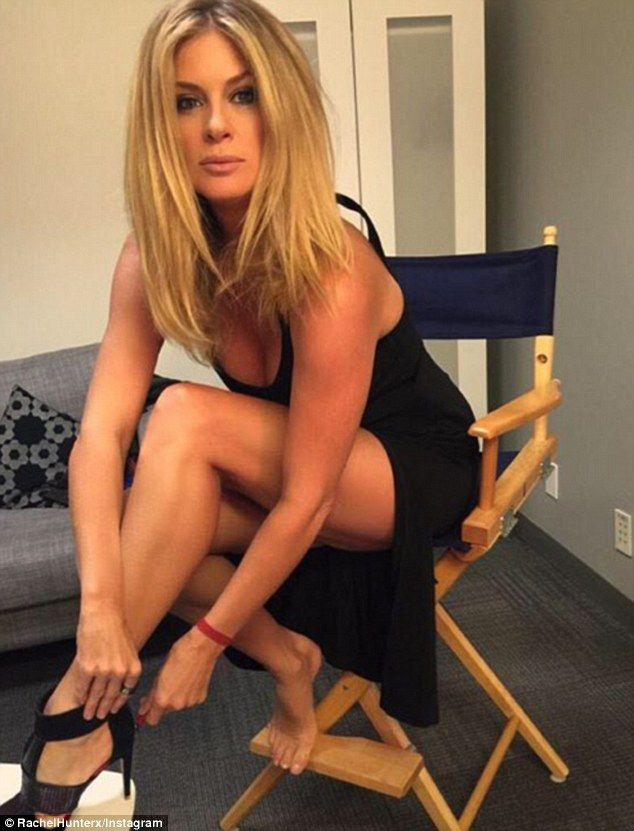 Beauty on the inside and out! Rachel Hunter recently opened up about her struggle to look perfect at the Television Critics Association winter meeting