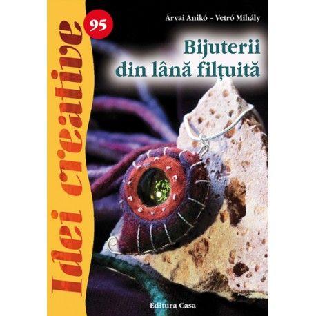 Bijuterii din lână filţuită - Idei creative 95