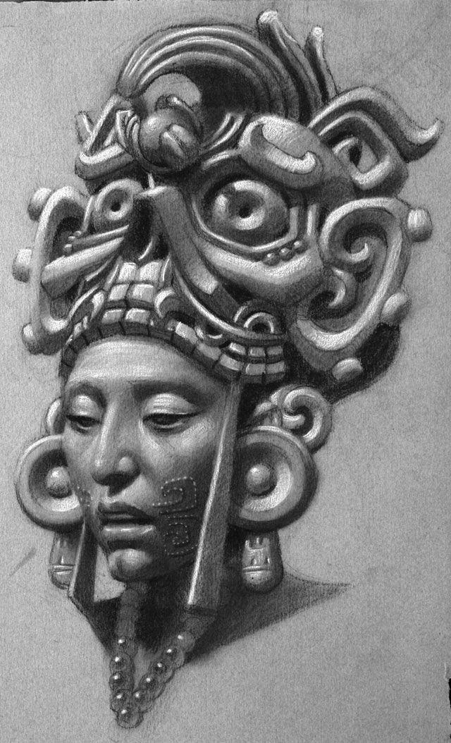 Best 25+ Aztec art ideas on Pinterest | Mayan symbols ...