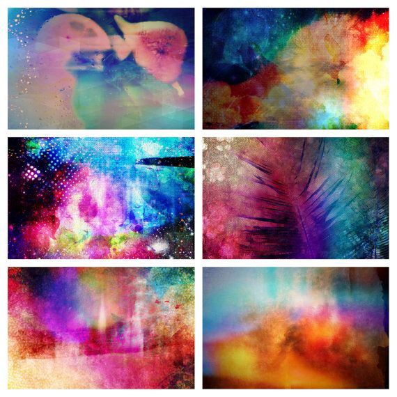 Bright and vibrant abstract prints home decor by giftdesigns