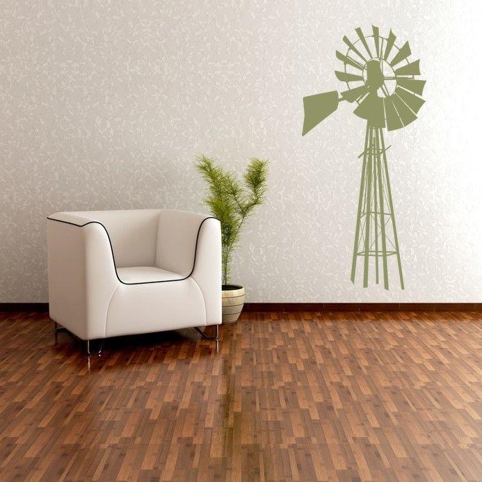 Windmill Wall Decor, Windmill Wall Art, Windmill Decal, Windmill Decor, Cottage Chic Decor, Rustic Wall Decor, Farmhouse Wall Decor by WallStarGraphics on Etsy https://www.etsy.com/listing/53417329/windmill-wall-decor-windmill-wall-art