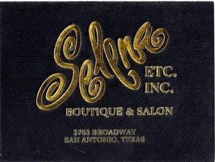 Selena boutique invitation