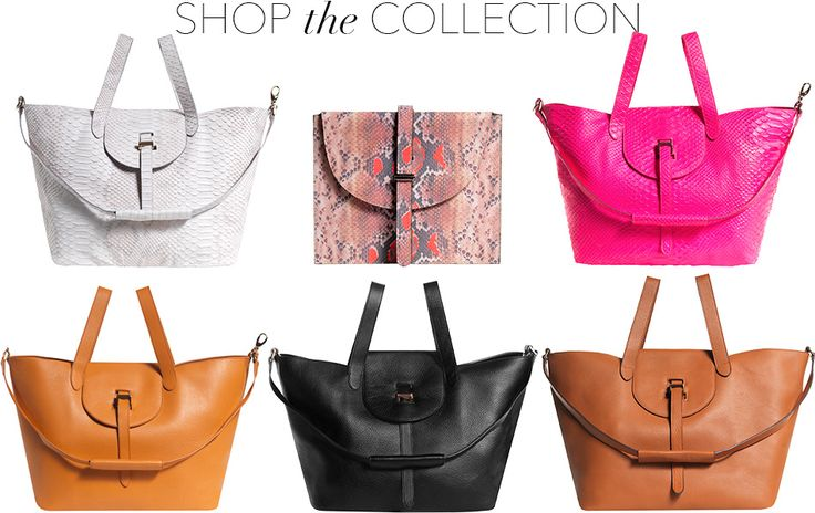 - By Andrea Mestrovic - Handbag designer Melissa Del Bono of meli melo is a magician of sorts.  She has revolutionized the way in which we carry purses by introducing the world to the thela bag – a...