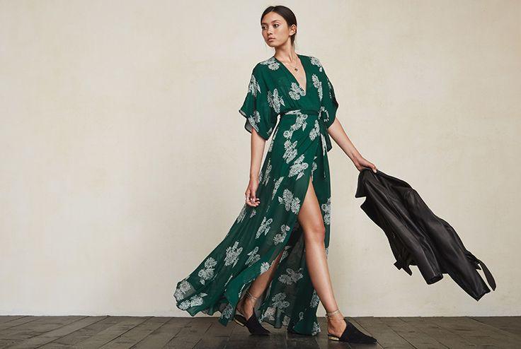 The Reformation, Winslow Sunflower Dress ($268.00)