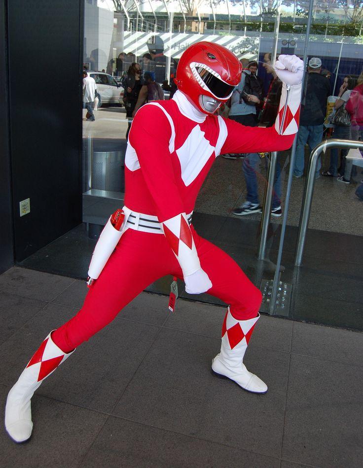 WonderCon 2010: Red Power Ranger