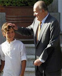 Se espera que el Rey acuda a visitar a Felipe Juan Froilán antes de que abandone el hospital este viernes.