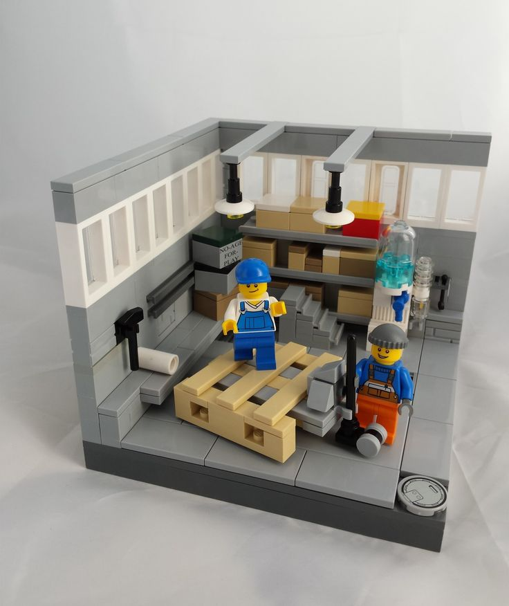 MOC noageforplay storage Lego FurnitureLego 164