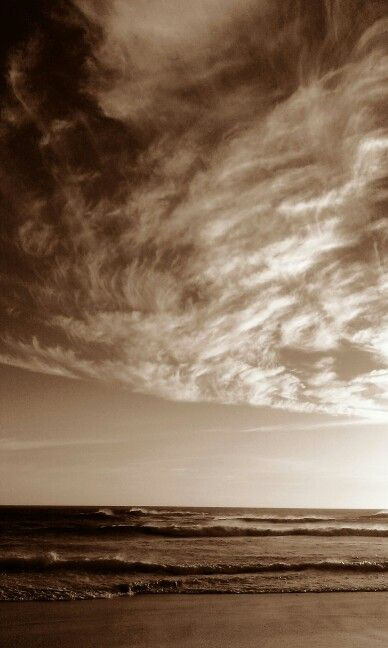 The sky at Fisherhaven, Overberg, Western Cape