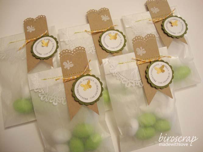 biroscrap: First Communion (Part 1) Glassine bags.