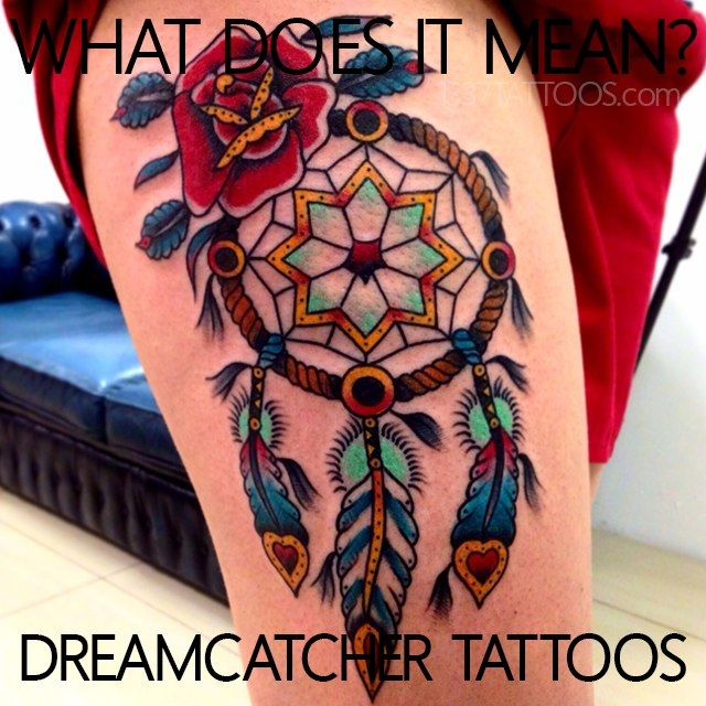 17 best tatouage attrape r ve dreamcatcher tattoo images on pinterest tattoo ideas - Tatouage atrape reve ...