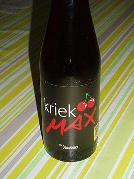 Kriek Max bier.JPG