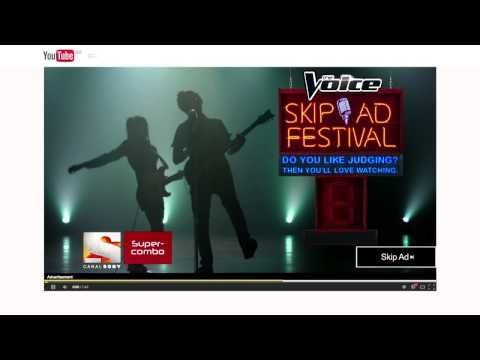 """Sony Channel, The Voice """"Skip Ad Festival"""" (Publicis Brazil)"""