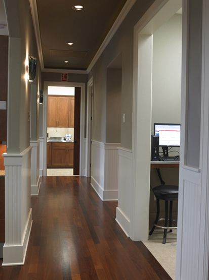 pictures of dental office hallways - Medical Office Design Ideas