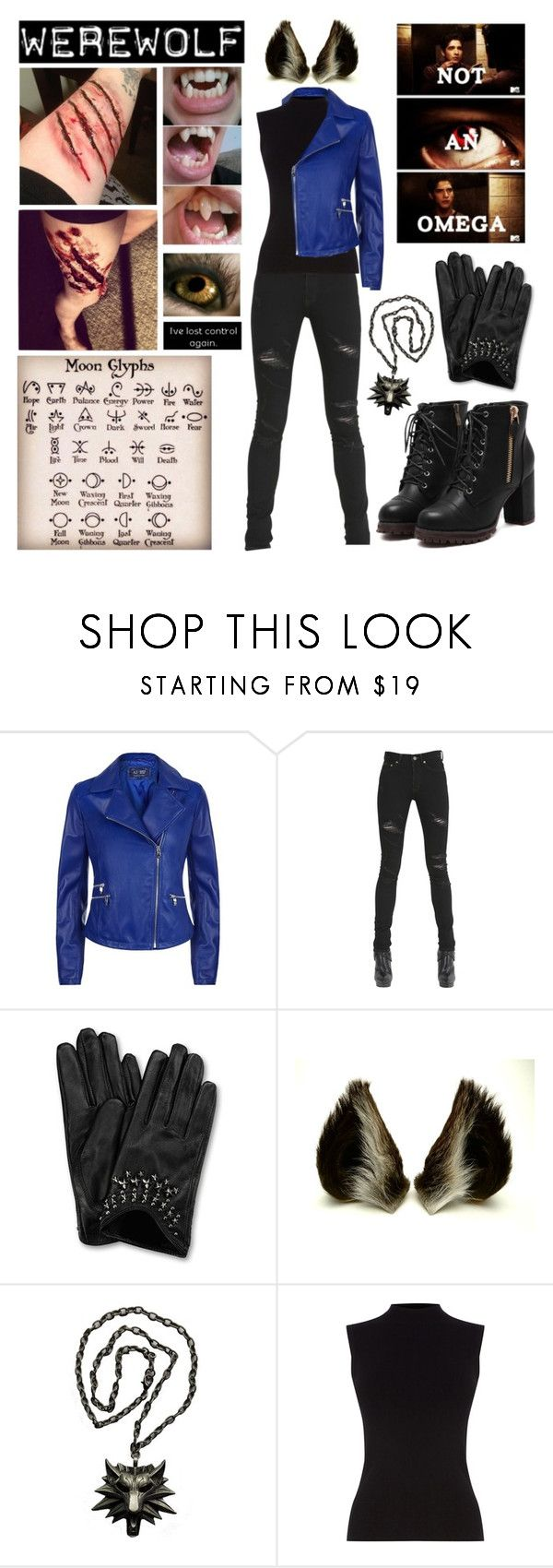 """Werewolf Halloween Costume - Kekkai Sensen Rp"" by americaneagle3297 ❤ liked on Polyvore featuring Armani Jeans, Yves Saint Laurent and Oasis"
