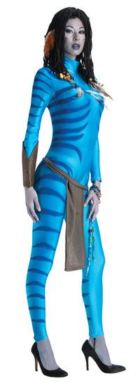 Join the Na'vi people of Pandora in this Sexy Neytiri Avatar costume! #mrcostumes