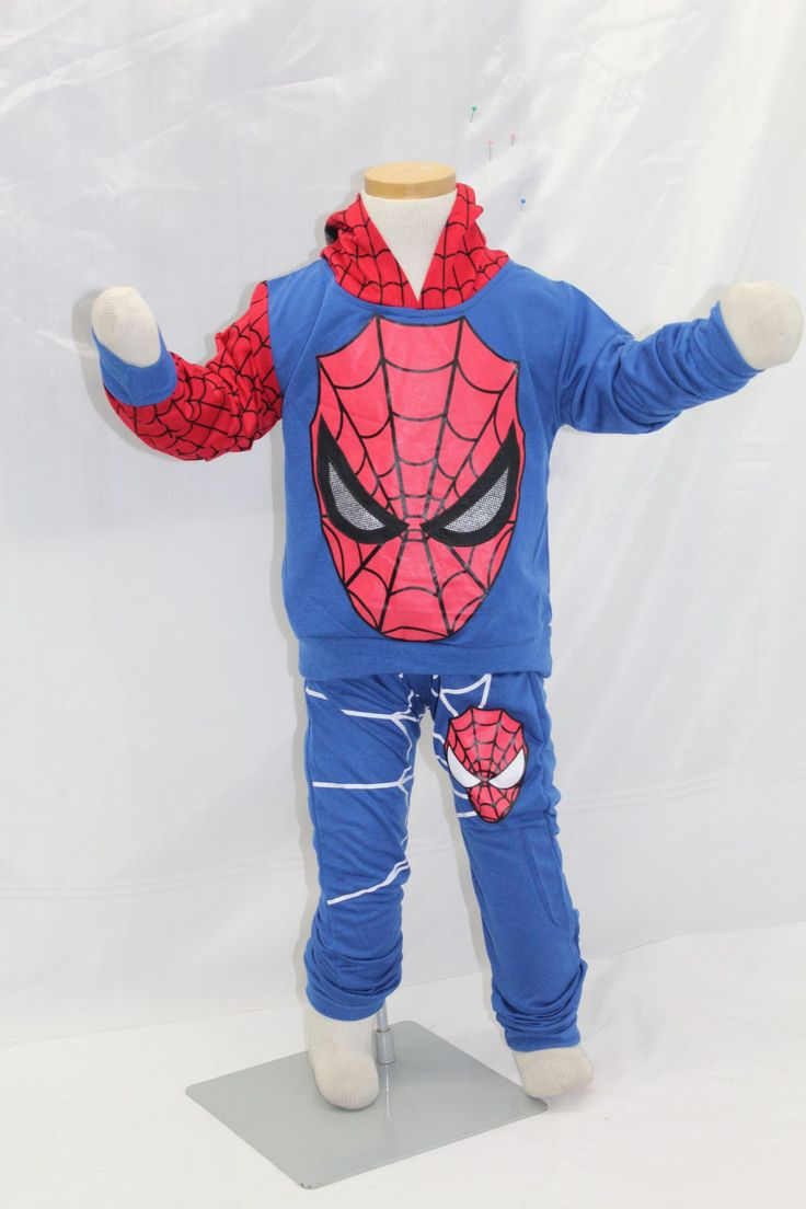 Spiderman Outfit Boys Outtfit Suit