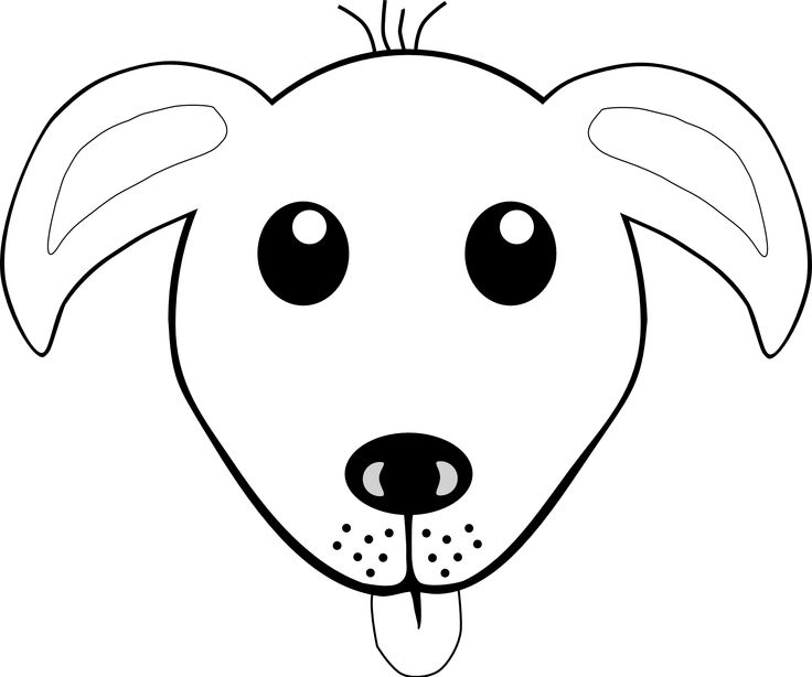 clip art of a fuzzy blue poodle dog with a bright red nose and a big pink ribbon around its neck