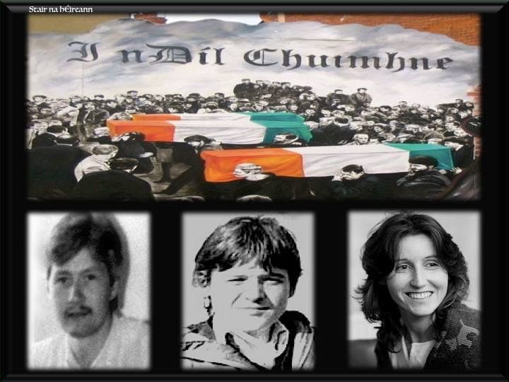 Gibralter Three: Maireád Farrell, Daniel McCann, Sean Savage