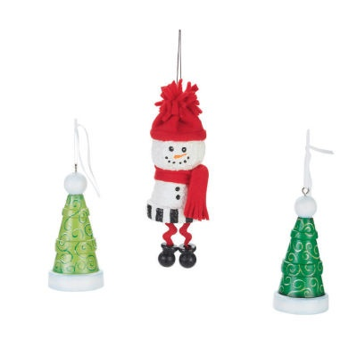 Clay pot trees snowman holiday michaelsstores for Christmas trees at michaels craft store
