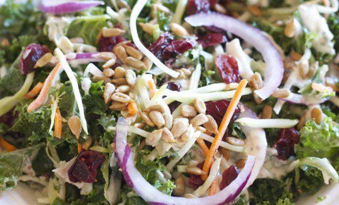 ... Salads on Pinterest | Homemade ranch, Kale and Broccoli slaw salad