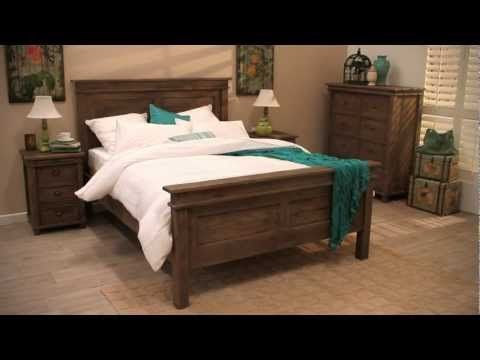 Beautiful urban timber bedroom suite. Forty Winks