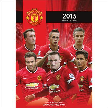 Manchester United FC A3 Calendar 2015   Buy Calendars Online   CalendarClub.co.uk