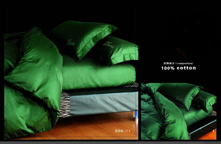 Emerald Green Bed Set - Bing Images
