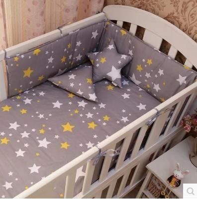 9 Farbe Nordischen Stil Baby Stoßstangen Baumwolle Druck Weiche Antikollisions Baby Kinderbett Stoßfänger Bett Um Krippe Gemütliche Dekoration 1 stücke