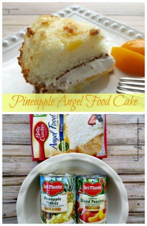 Pineapple Angel Food Cake Recipe on Having Fun Saving