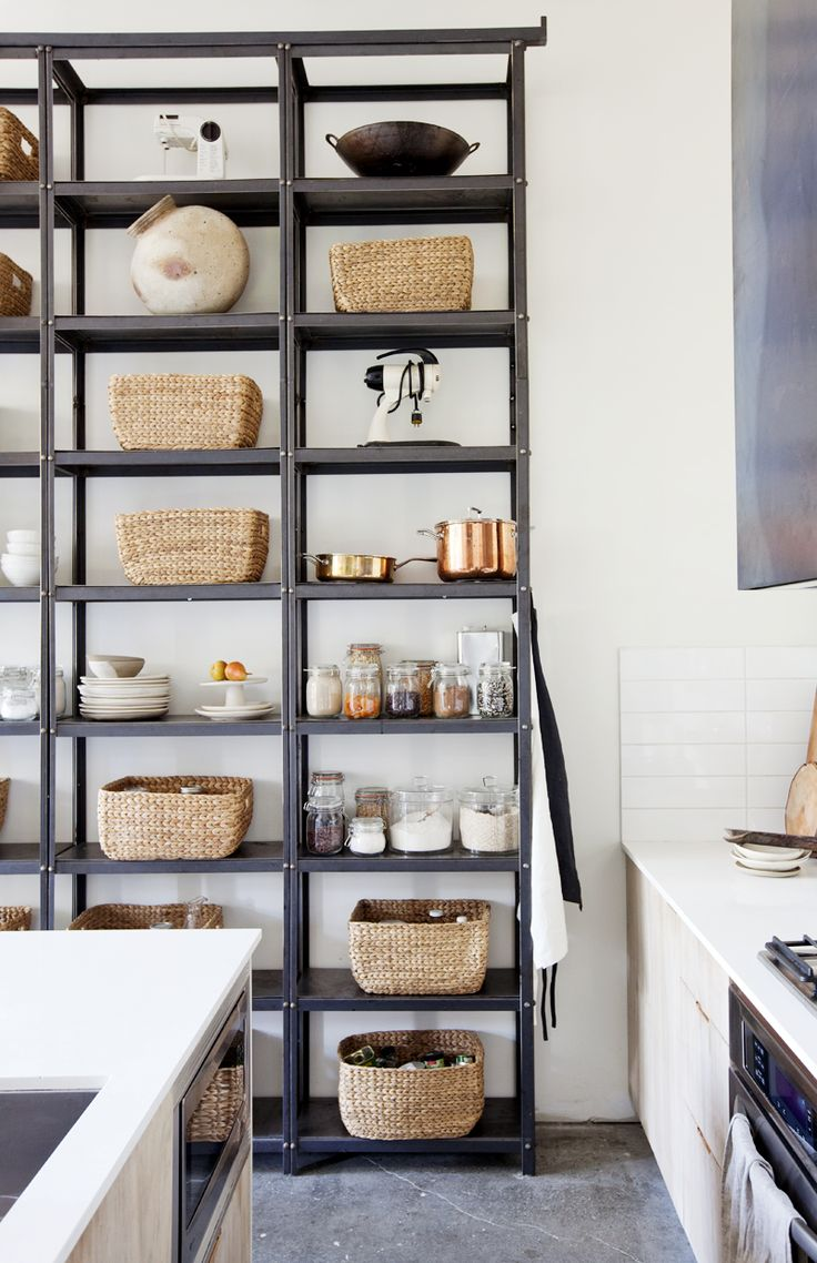 133 best images about Open Kitchen Shelving on Pinterest See