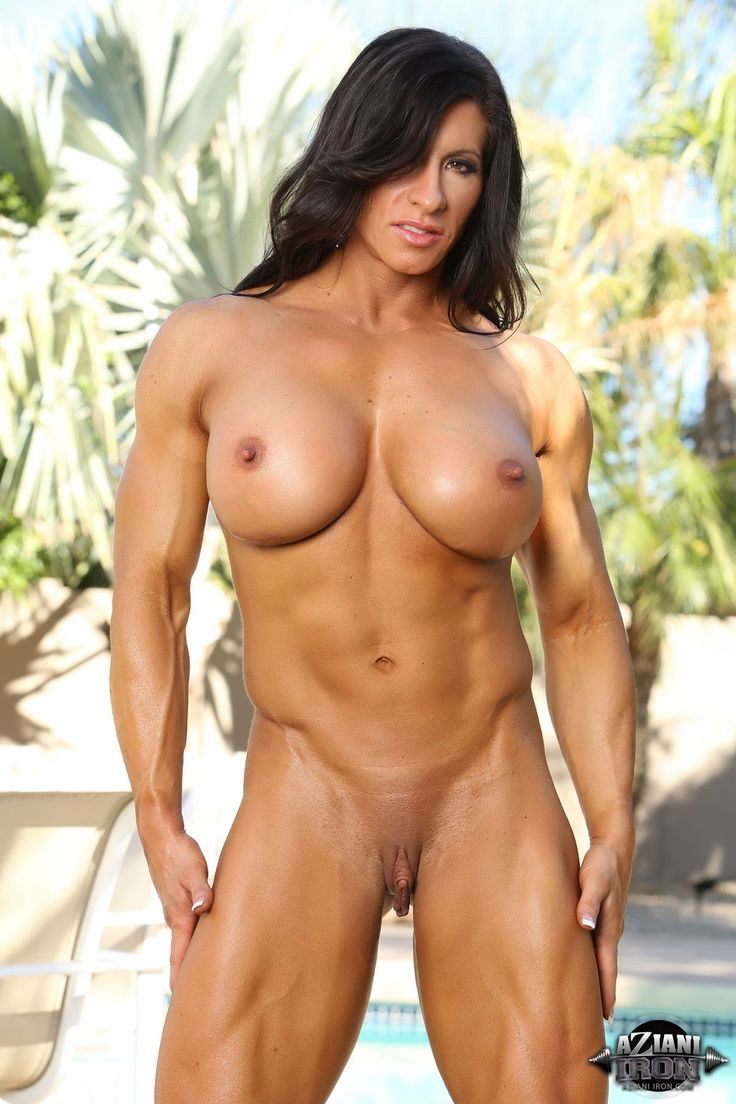 Slightly muscular girls naked