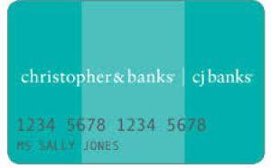 christopher and banks credit card login