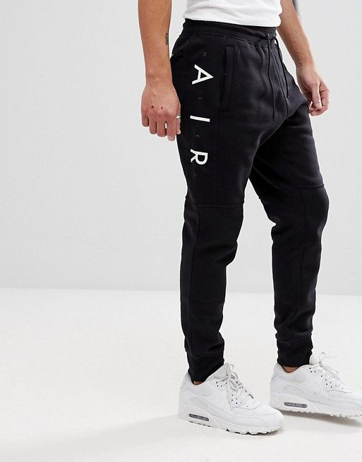 f126486c7b90 Nike Air Joggers In Skinny Fit In Black 886048-011